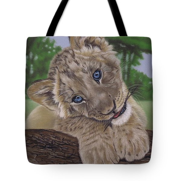 Ol' Blue Eyes Tote Bag