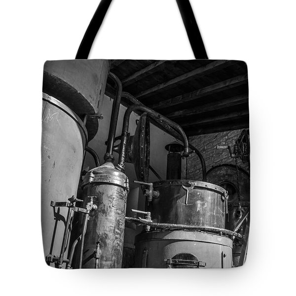 Old Alambic Tote Bag by Dany Lison
