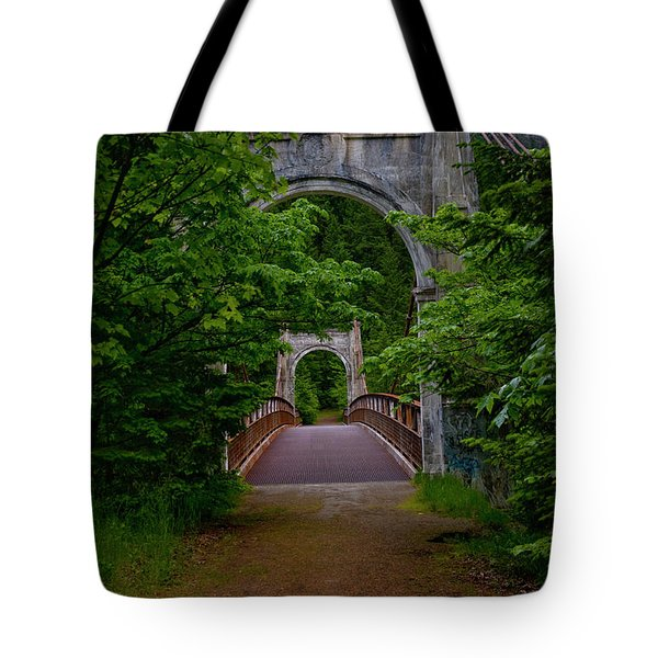 Old Alexandra Bridge Tote Bag