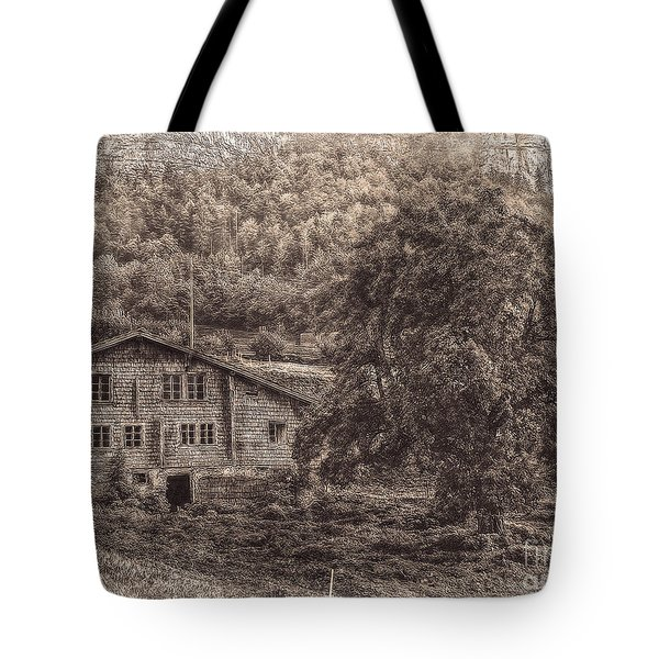 Old And Abandoned - Sepia Tote Bag by Hanny Heim