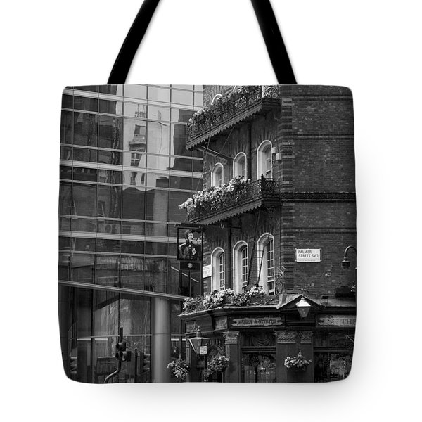 Tote Bag featuring the photograph Old And New by Chevy Fleet