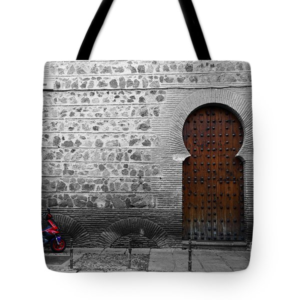 Old And New Toledo Tote Bag