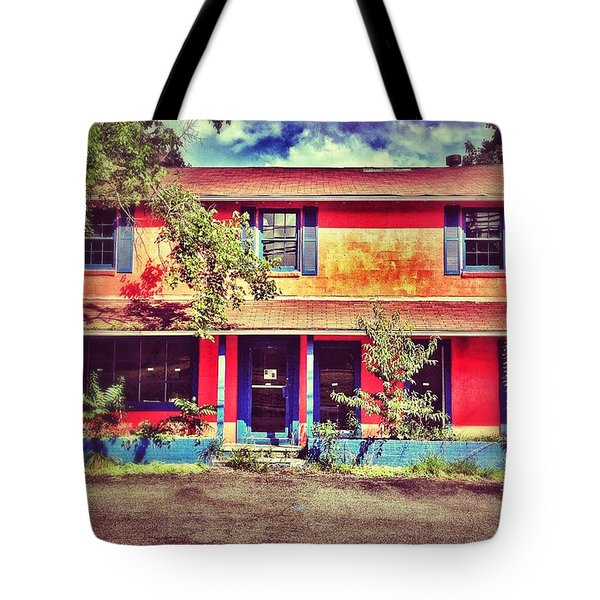 Old And Orange Tote Bag by Jim Moore