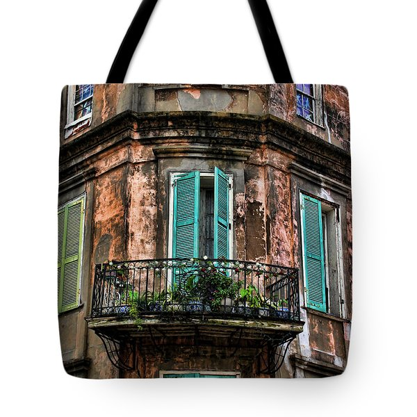 Old And Weathered Tote Bag by Judy Vincent