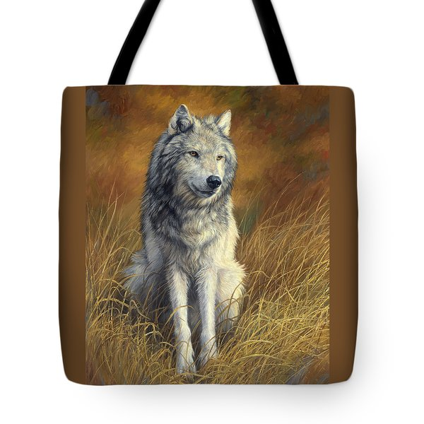 Old And Wise Tote Bag by Lucie Bilodeau