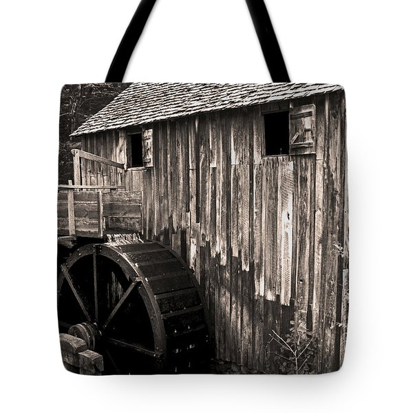Old Appalachian Mill Tote Bag by Paul W Faust -  Impressions of Light