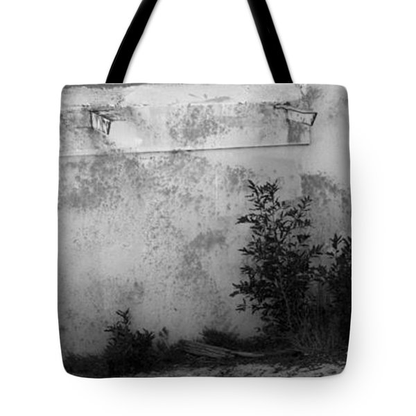 Tote Bag featuring the photograph Old Army Lookout by Miroslava Jurcik