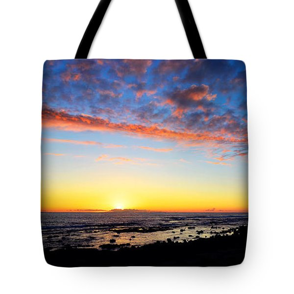 Tote Bag featuring the photograph Old A's Panorama by David Lawson