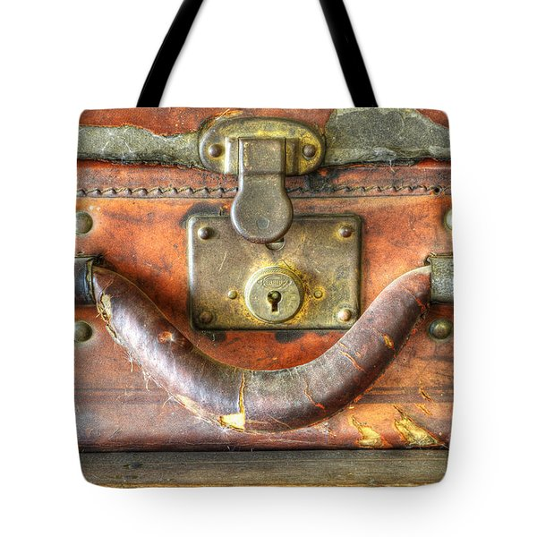 Old Baggage Tote Bag by Bob Christopher