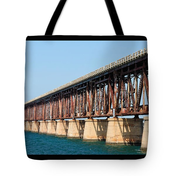 Old Bahia Honda Bridge 2 Tote Bag