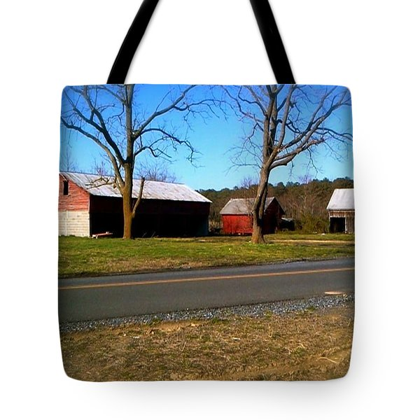 Old Barn Tote Bag by Amazing Photographs AKA Christian Wilson