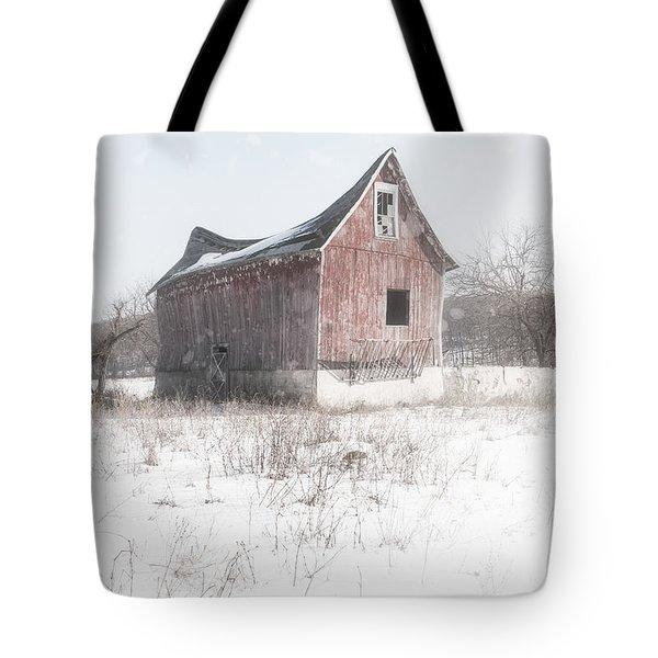 Old Barn - Brokeback Shack Tote Bag by Gary Heller