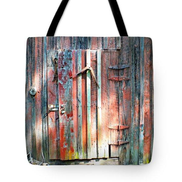 Old Barn Door 2 Tote Bag