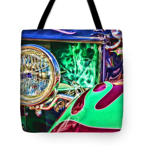 Old Betty Ford Vintage Car By Diana Sainz Tote Bag