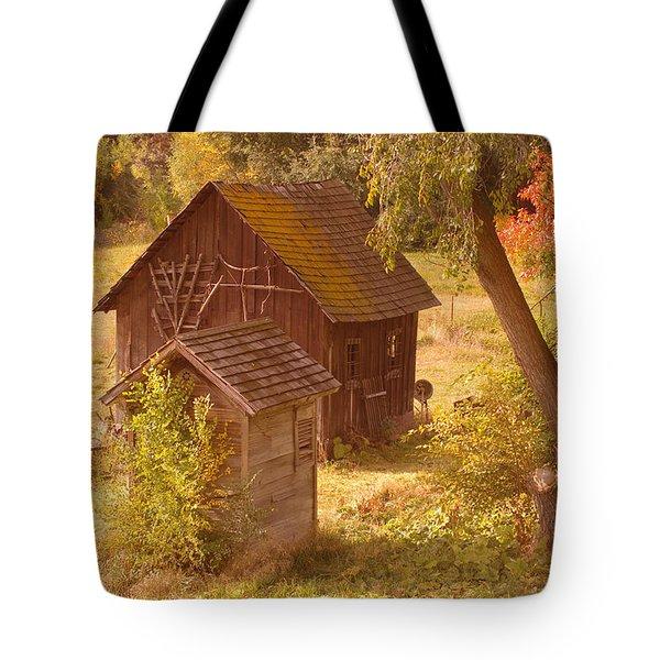 Old Blacksmiths Shop  Tote Bag by Jeff Swan