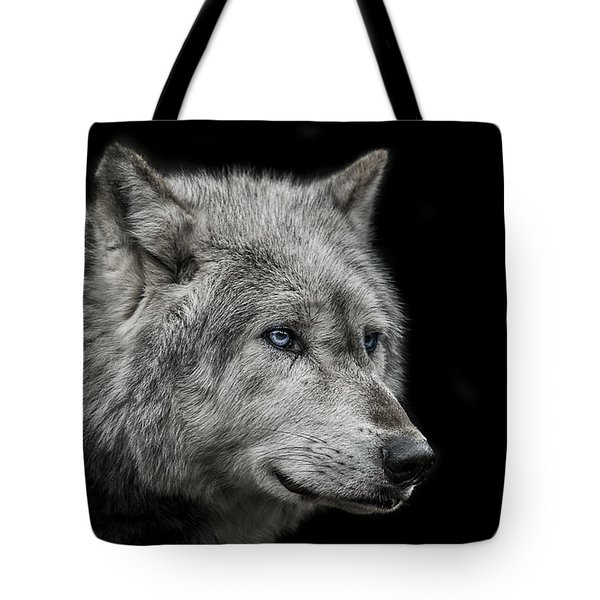 Old Blue Eyes Tote Bag by Paul Neville
