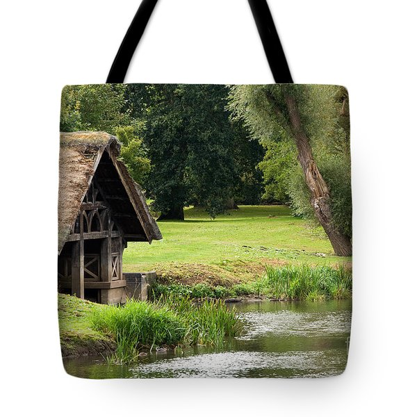 Old Boathouse Tote Bag by Rick Piper Photography