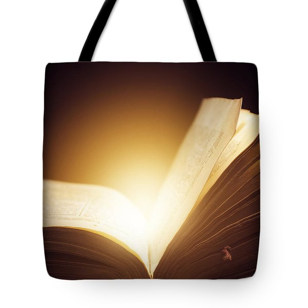 Old Book Tote Bag