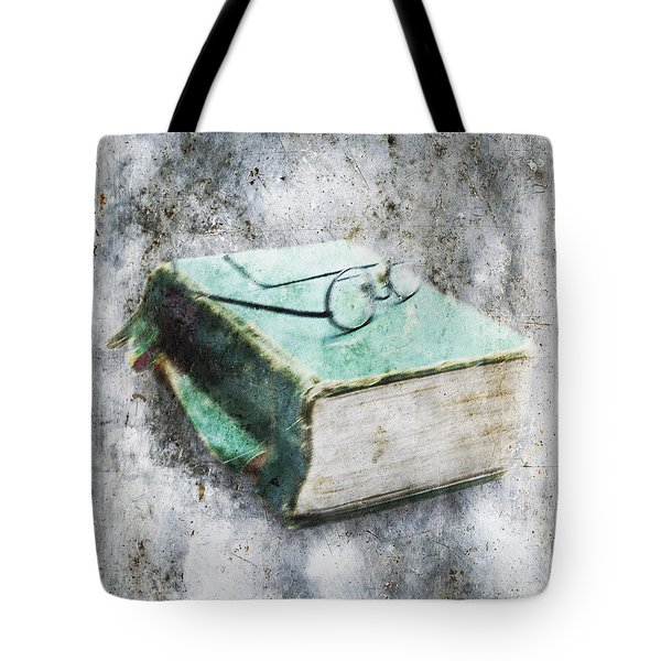 Old Book Tote Bag by Skip Nall