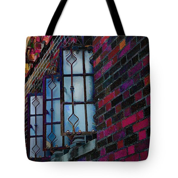 Old Brick Renewed Tote Bag