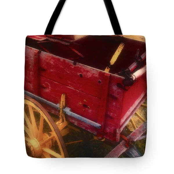 Old Buck Tote Bag by Stephen Anderson