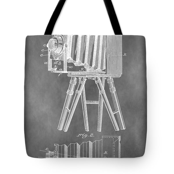 Old Camera Patent Tote Bag