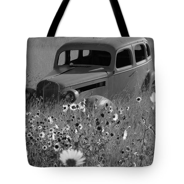 Tote Bag featuring the photograph Old Car by Leticia Latocki