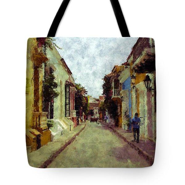 Old Cartagena 1 Tote Bag