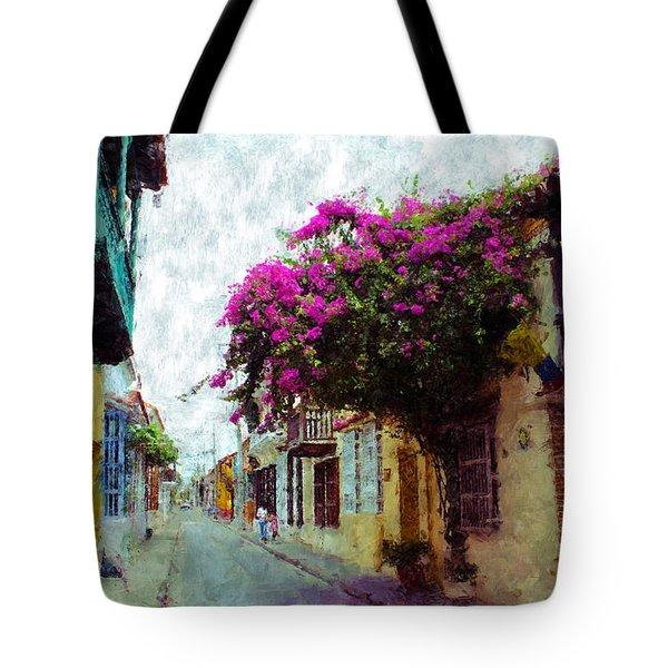 Old Cartagena 2 Tote Bag