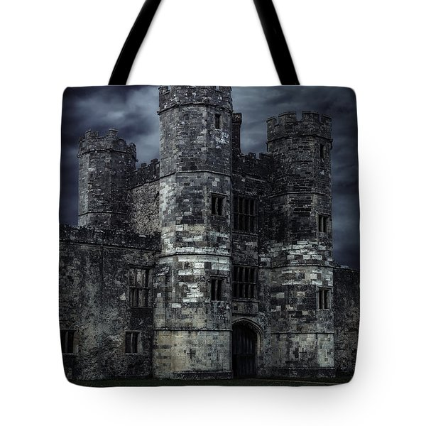 Old Castle At Night Tote Bag