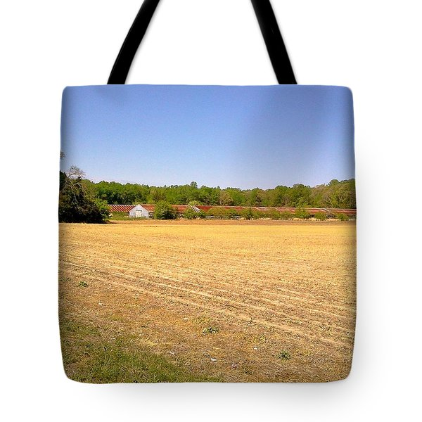 Tote Bag featuring the photograph Old Chicken Houses by Amazing Photographs AKA Christian Wilson
