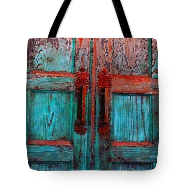 Old Church Door Handles 1 Tote Bag