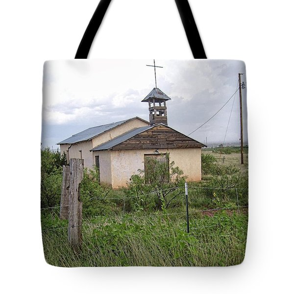 Old Church Tote Bag