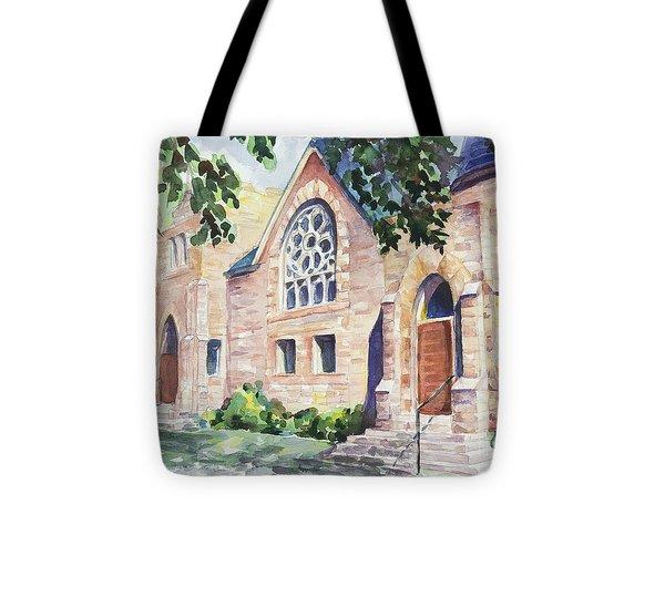 Old Church Tote Bag by Svetlana Howe