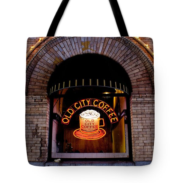 Old City Coffee Tote Bag