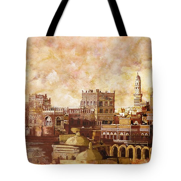 Old City Of Sanaa Tote Bag