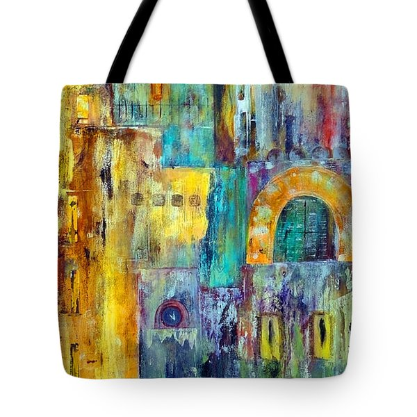 Old City West Tote Bag