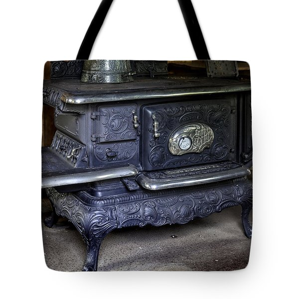 Old Clarion Wood Burning Stove Tote Bag by Lynn Palmer