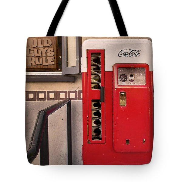 Old Guys Rule Tote Bag