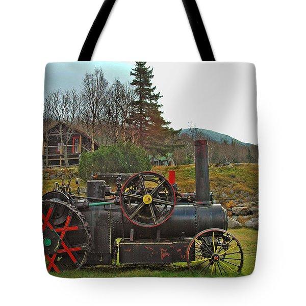 Old Cog Tote Bag by Joann Vitali