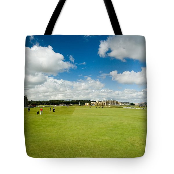 Old Course Fairways Tote Bag