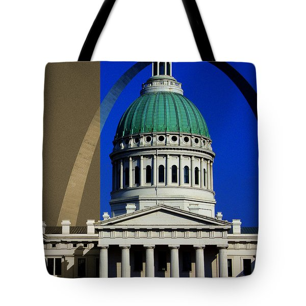 Old Courthouse Dome Arch Tote Bag
