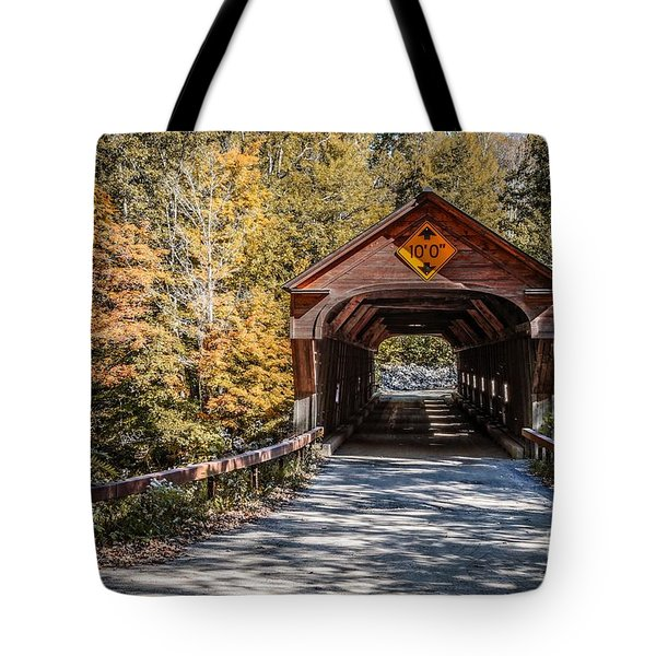 Old Covered Bridge Vermont Tote Bag