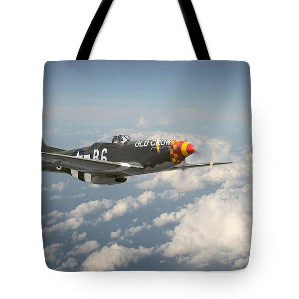 P51 Mustang - 'old Crow' Tote Bag