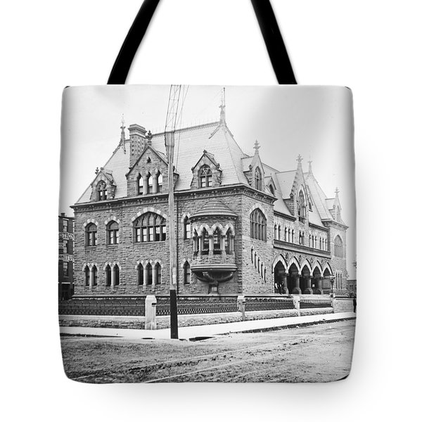 Old Customs House And Post Office Evansville Indiana 1915 Tote Bag