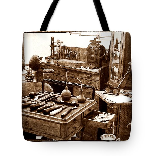 Old Dentistry Tote Bag by Julie Palencia