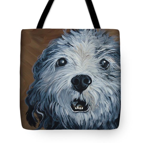 Old Dogs Are The Best Dogs Tote Bag