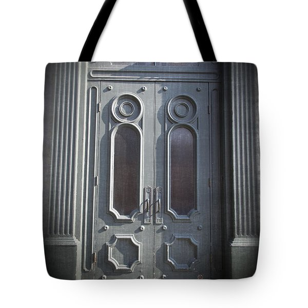 Old Doorway Quebec City Tote Bag