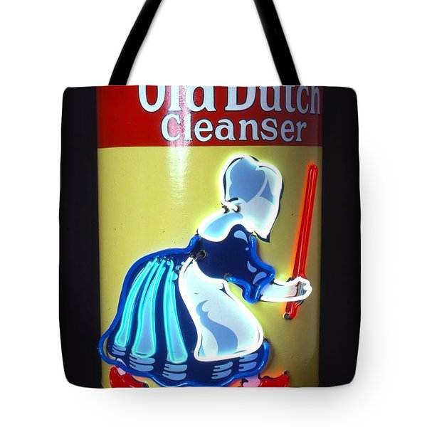 Old Dutch Cleanser Tote Bag by Pacifico Palumbo