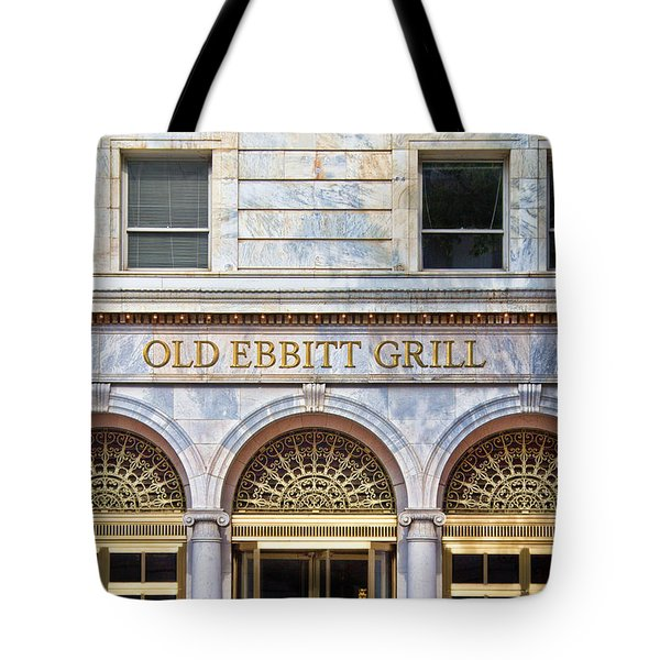 Old Ebbitt Grill Tote Bag
